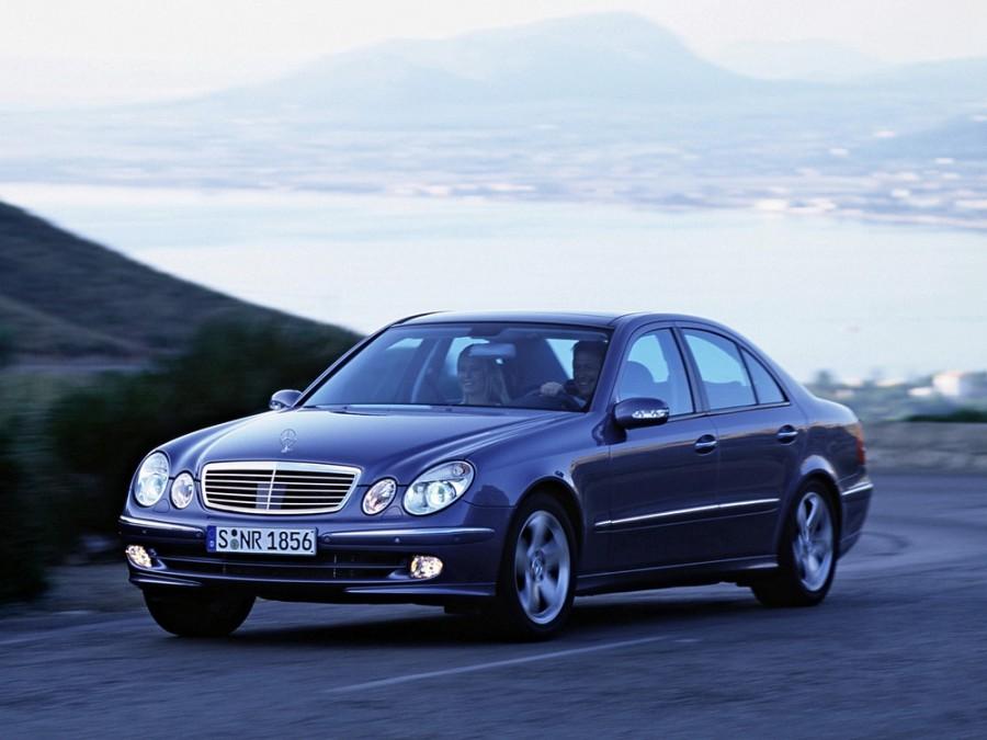 Mercedes E-Class седан, 2002–2006, W211/S211, E 200 Kompressor 5G-Tronic (163 л.с.), характеристики