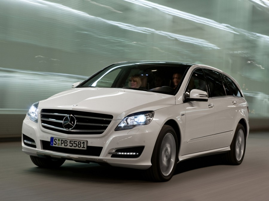 Mercedes R-Class минивэн, 2010–2013, W251 [рестайлинг] - отзывы, фото и характеристики на Car.ru