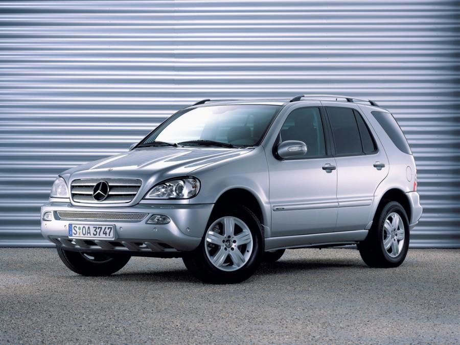 Mercedes M-Class кроссовер, 2001–2005, W163 [рестайлинг] - отзывы, фото и характеристики на Car.ru