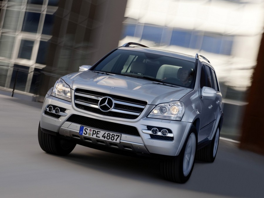 Mercedes GL-Class внедорожник 5-дв., 2009–2012, X164 [рестайлинг] - отзывы, фото и характеристики на Car.ru