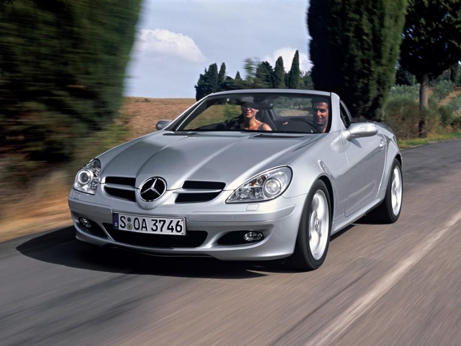 Mercedes SLK-Class родстер, 2004–2008, R171, SLK 280 AT (231 л.с.), характеристики