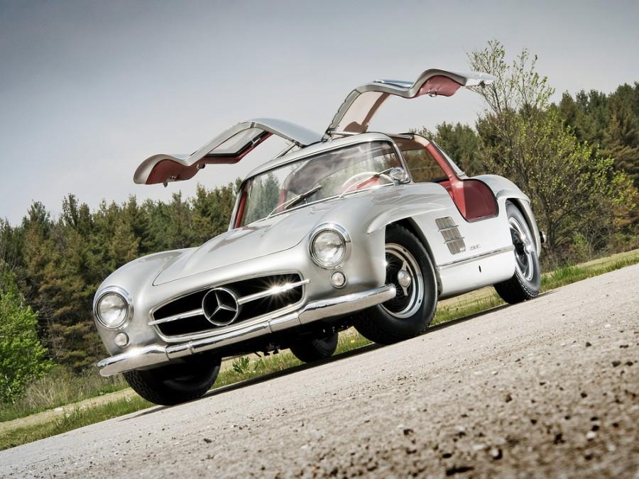 Mercedes SL-Class купе, W198 - отзывы, фото и характеристики на Car.ru