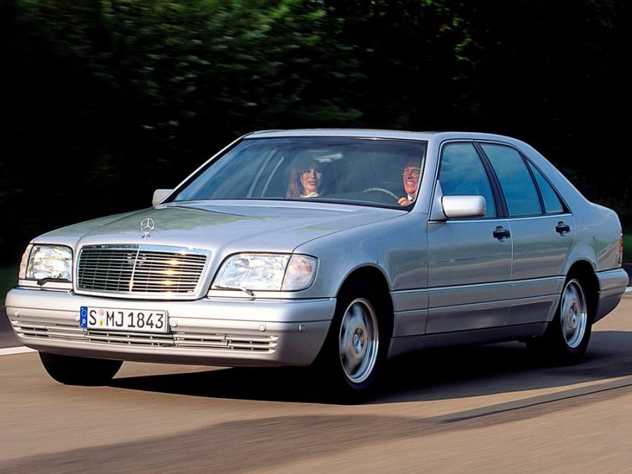 Mercedes S-Class седан, 1996–1998, W140 [2-й рестайлинг] - отзывы, фото и характеристики на Car.ru