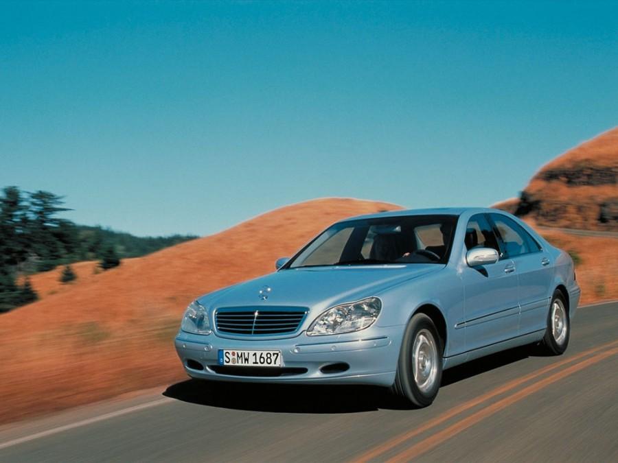 Mercedes S-Class седан, 1998–2002, W220 - отзывы, фото и характеристики на Car.ru