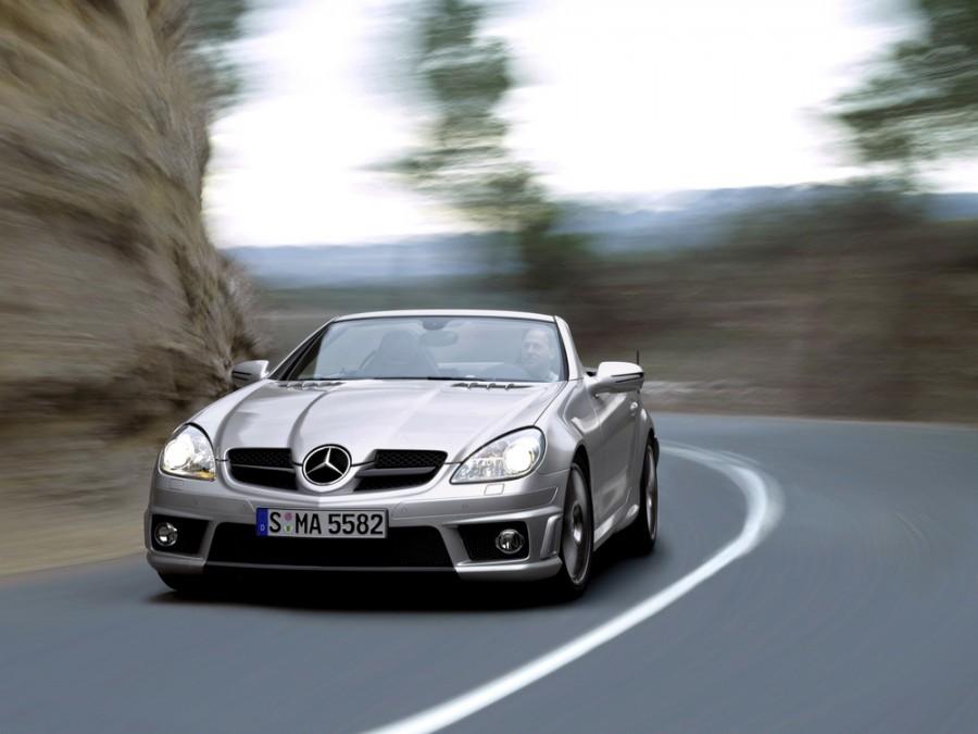 Mercedes SLK-Class AMG родстер 2-дв., 2008–2011, R171 [рестайлинг] - отзывы, фото и характеристики на Car.ru