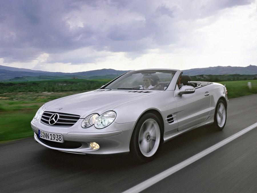 Mercedes SL-Class родстер 2-дв., 2001–2006, R230 - отзывы, фото и характеристики на Car.ru