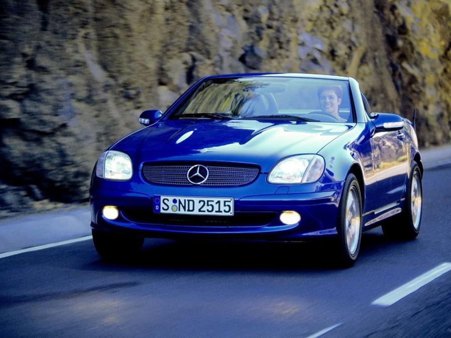 Mercedes SLK-Class родстер, 2000–2004, R170 [рестайлинг] - отзывы, фото и характеристики на Car.ru