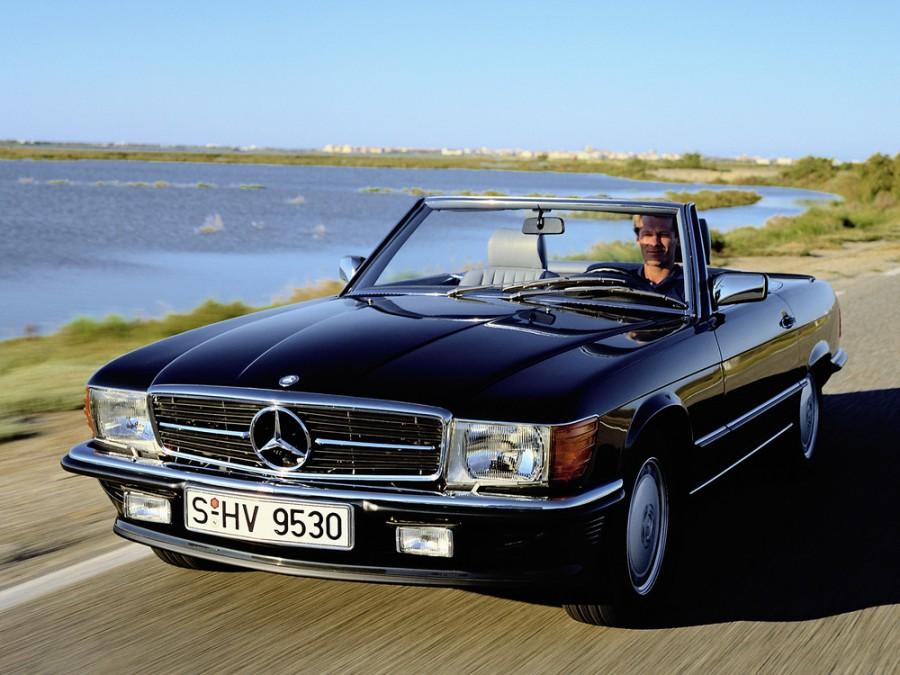 Mercedes SL-Class родстер, R107 - отзывы, фото и характеристики на Car.ru