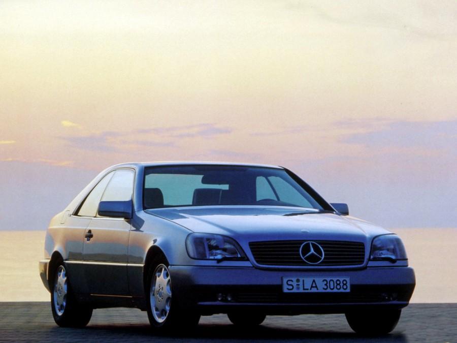 Mercedes S-Class купе, 1991–1993, W140/C140, 500 SEC AT (320 л.с.), характеристики
