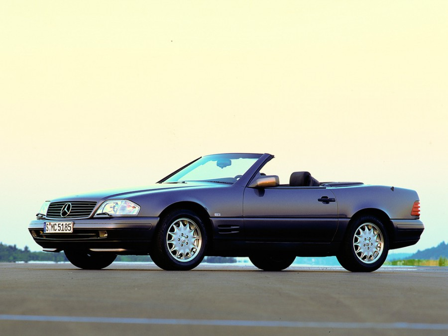 Mercedes SL-Class родстер, 1995–1998, R129 [рестайлинг] - отзывы, фото и характеристики на Car.ru