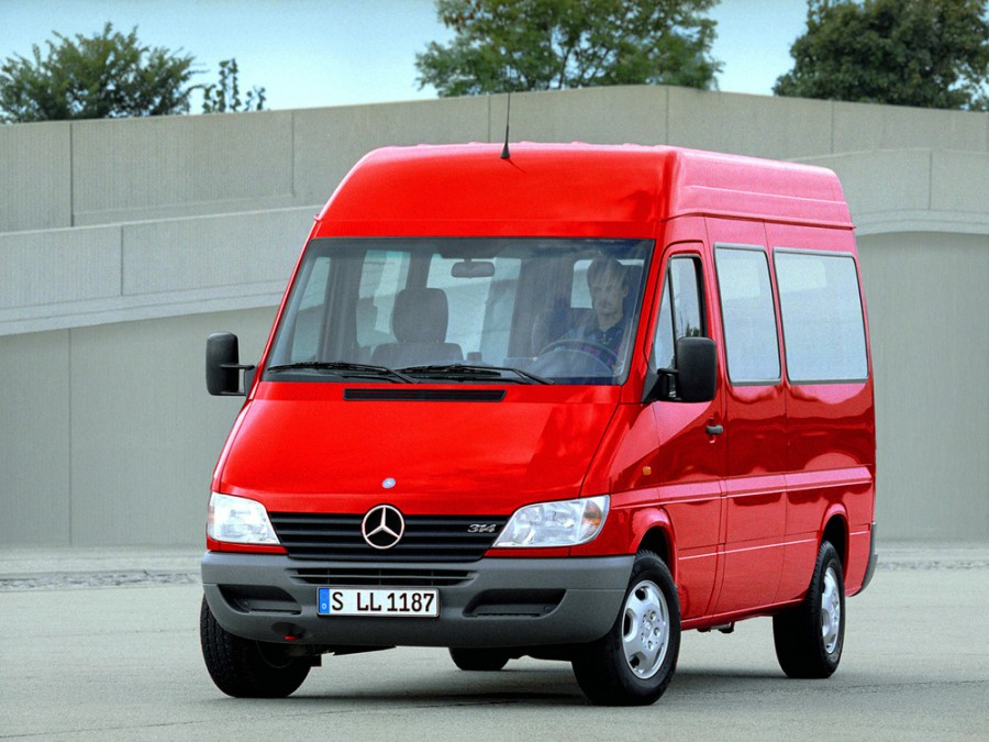 Mercedes Sprinter микроавтобус, W901-905 [рестайлинг] - отзывы, фото и характеристики на Car.ru