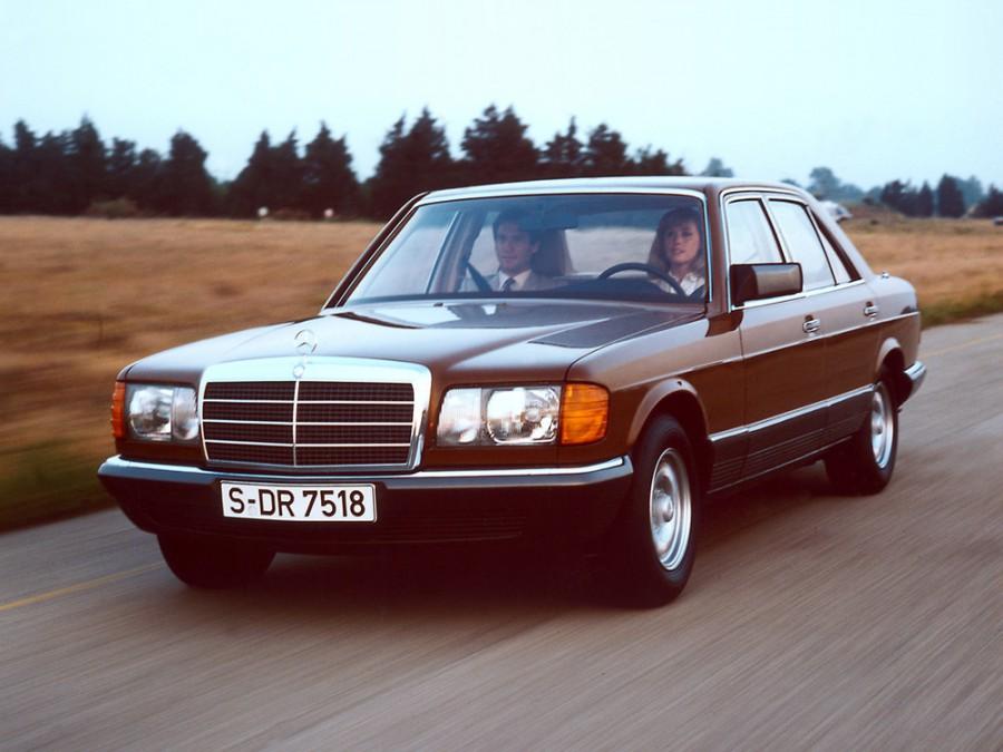 Mercedes S-Class седан, 1979–1985, W126 / C126 - отзывы, фото и характеристики на Car.ru