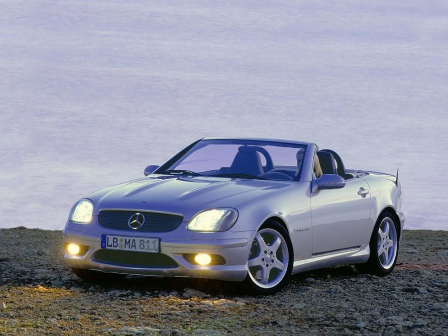 Mercedes SLK-Class AMG родстер 2-дв., 2000–2004, R170 [рестайлинг] - отзывы, фото и характеристики на Car.ru