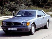 Mercedes S-Class, W126 / C126 [рестайлинг], Купе, 1985–1991