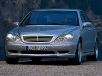 Mercedes S-Class, W220, Amg седан 4-дв., 1998–2002