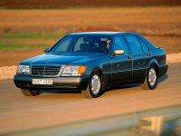 Mercedes S-Class, W140/C140, Седан, 1991–1993