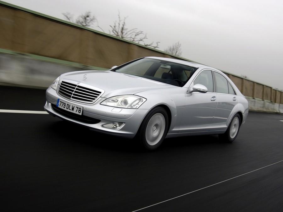 Mercedes S-Class седан, 2005–2009, W221 - отзывы, фото и характеристики на Car.ru