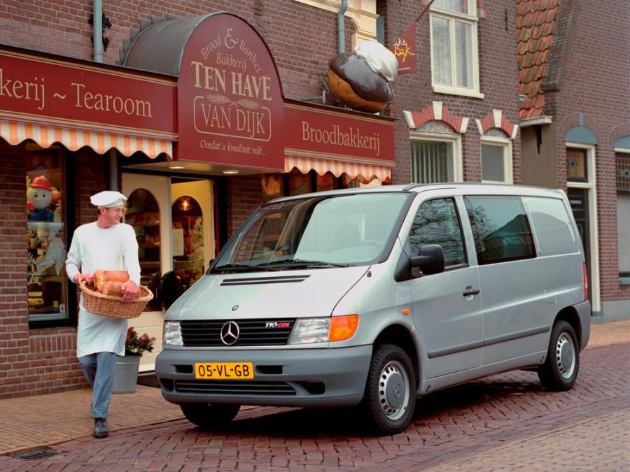 Mercedes Vito Mixto микроавтобус, 1996–2003, W638 - отзывы, фото и характеристики на Car.ru