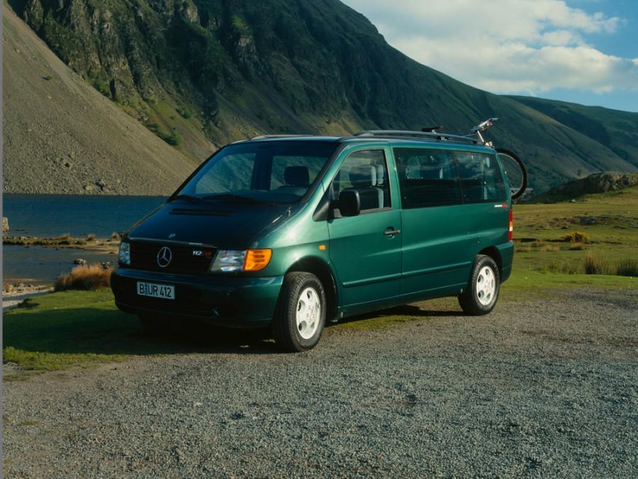 Mercedes Vito микроавтобус, 1996–2003, W638 - отзывы, фото и характеристики на Car.ru