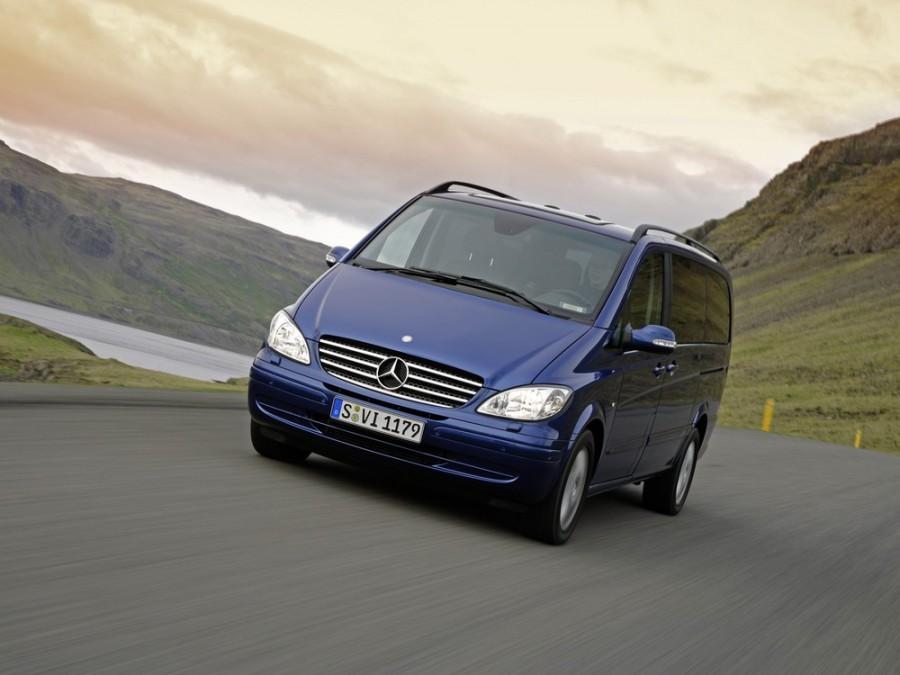 Mercedes Viano микроавтобус, 2003–2010, W639 - отзывы, фото и характеристики на Car.ru