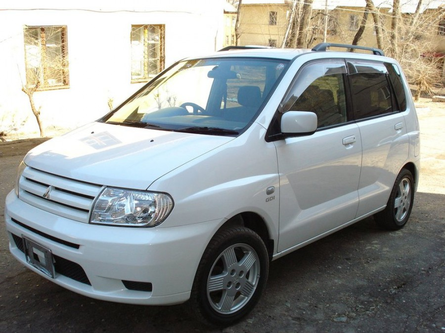 Mitsubishi Dingo минивэн, 1999–2016, 1 поколение - отзывы, фото и характеристики на Car.ru