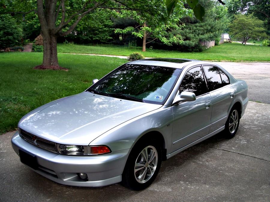 Mitsubishi Galant седан, 1996–2006, 8 поколение - отзывы, фото и характеристики на Car.ru