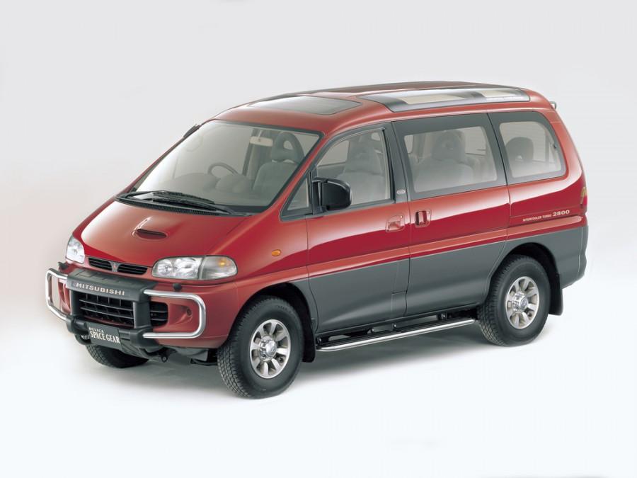 Mitsubishi Delica минивэн, 1995–2005, 4 поколение - отзывы, фото и характеристики на Car.ru