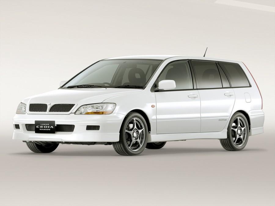 Mitsubishi Lancer Cedia универсал, 2000–2003, 6 поколение - отзывы, фото и характеристики на Car.ru