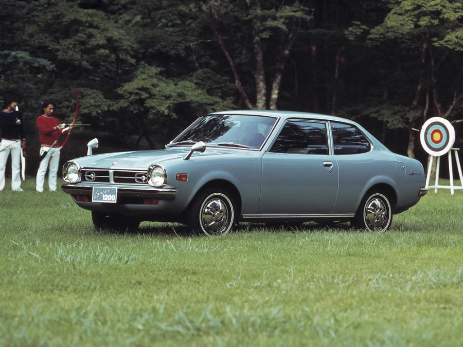 Mitsubishi Lancer седан 2-дв., 1973–1974, A70 - отзывы, фото и характеристики на Car.ru