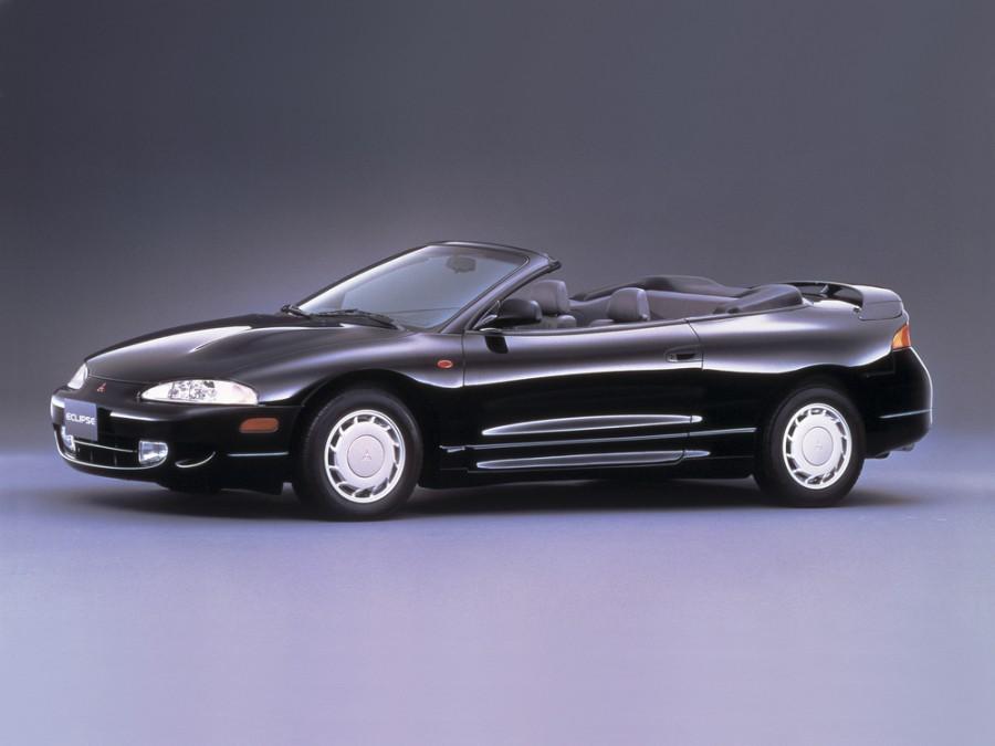 Mitsubishi Eclipse Spyder кабриолет, 1995–1997, 2G - отзывы, фото и характеристики на Car.ru