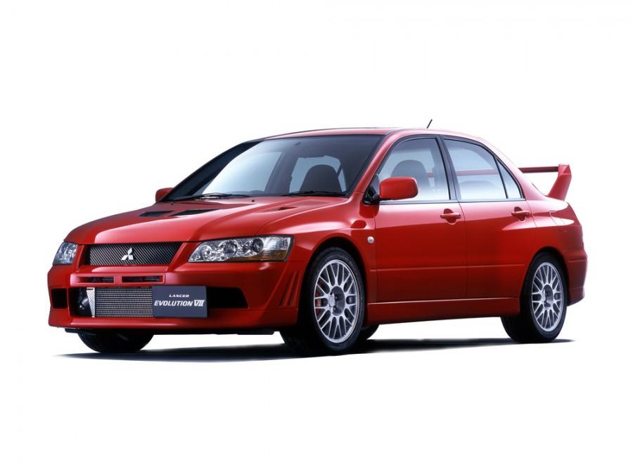 Mitsubishi Lancer Evolution JDM седан 4-дв., 2001–2003, VII - отзывы, фото и характеристики на Car.ru