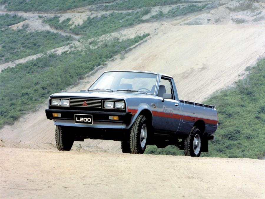 Mitsubishi L200 пикап, 1981–1986, 1 поколение [рестайлинг] - отзывы, фото и характеристики на Car.ru