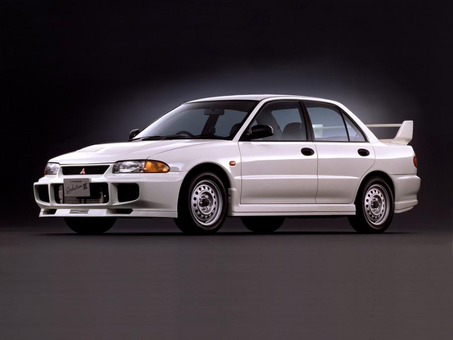Mitsubishi Lancer Evolution седан, 1995–1996, III - отзывы, фото и характеристики на Car.ru
