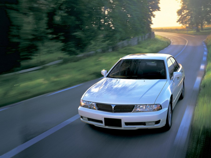 Mitsubishi Diamante седан, 1995–2002, 2 поколение - отзывы, фото и характеристики на Car.ru