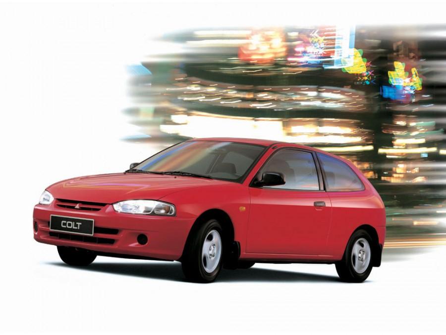 Mitsubishi Colt хетчбэк, 1996–2002, CJO - отзывы, фото и характеристики на Car.ru