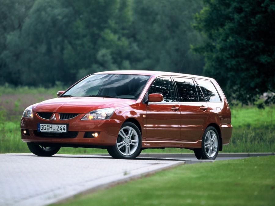 Mitsubishi Lancer универсал, 2003–2005, 6 поколение [рестайлинг] - отзывы, фото и характеристики на Car.ru