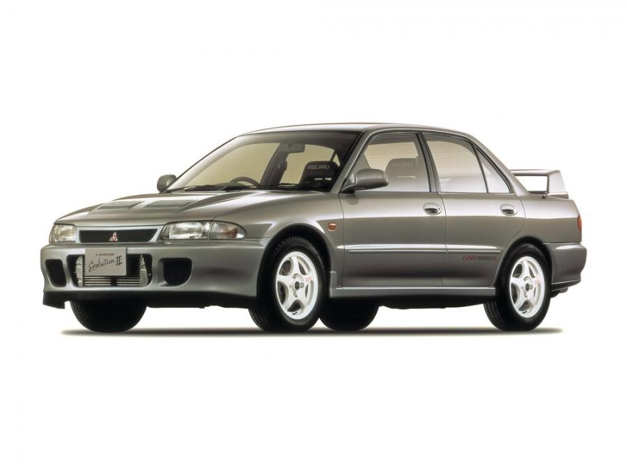 Mitsubishi Lancer Evolution седан, 1994–1995, II - отзывы, фото и характеристики на Car.ru