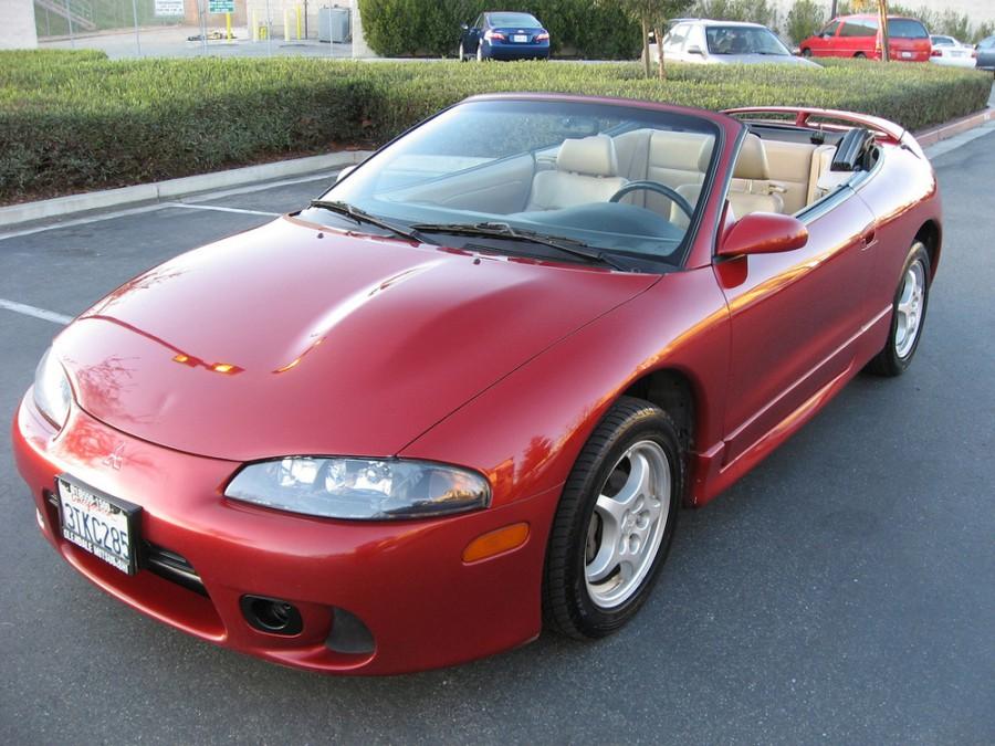 Mitsubishi Eclipse Spyder кабриолет, 1997–1999, 2G [рестайлинг] - отзывы, фото и характеристики на Car.ru
