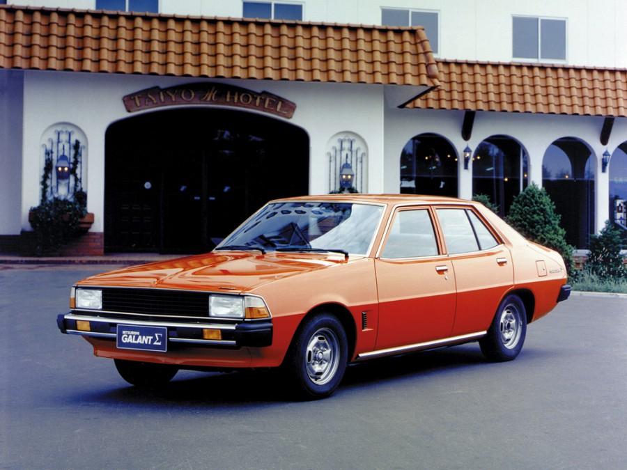 Mitsubishi Galant седан, 1976–1984, 3 поколение - отзывы, фото и характеристики на Car.ru