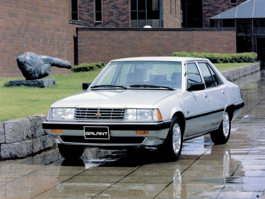 Mitsubishi Galant седан, 1980–1984, 4 поколение - отзывы, фото и характеристики на Car.ru