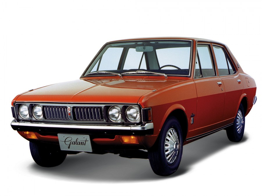 Mitsubishi Galant седан, 1969–1975, 1 поколение - отзывы, фото и характеристики на Car.ru