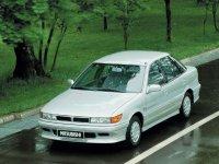 Mitsubishi Lancer, 3 поколение [2-й рестайлинг], Лифтбэк, 1990–1996
