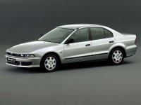 Mitsubishi Galant, 8 поколение [рестайлинг], Седан, 2001–2006