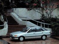 Mitsubishi Lancer, 3 поколение [рестайлинг], Лифтбэк, 1989–1990