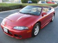 Mitsubishi Eclipse, 2G [рестайлинг], Spyder кабриолет, 1997–1999