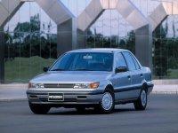 Mitsubishi Lancer, 3 поколение, Седан, 1988–1989