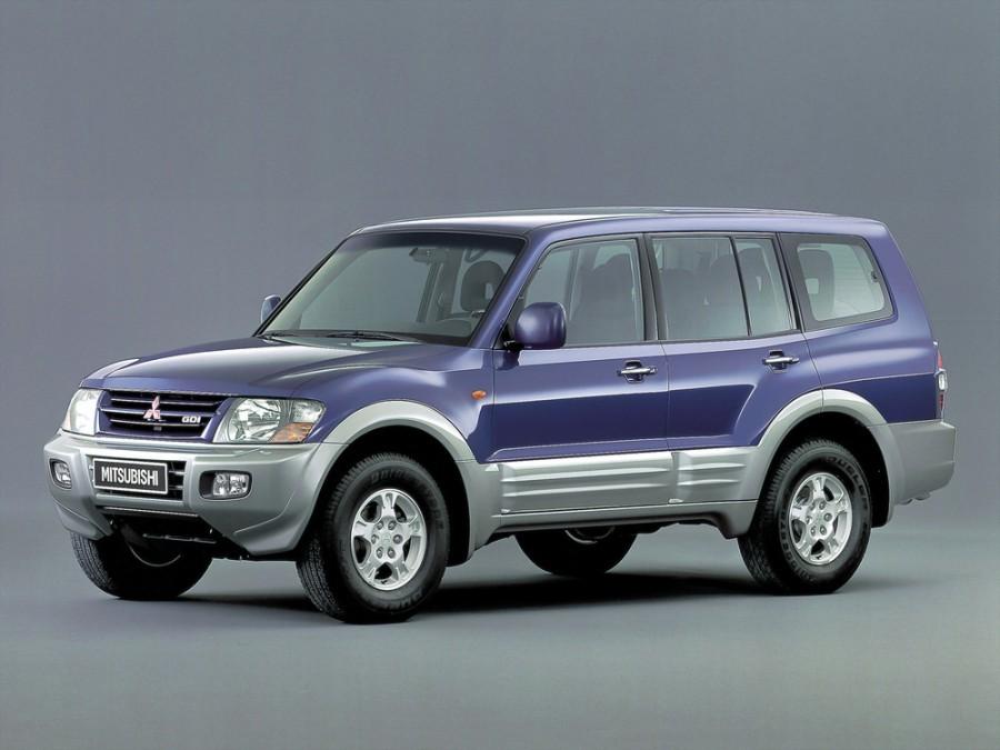 Mitsubishi Pajero внедорожник 5-дв., 1999–2003, 3 поколение - отзывы, фото и характеристики на Car.ru