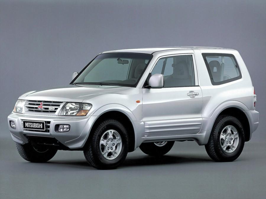 Mitsubishi Pajero внедорожник 3-дв., 1999–2003, 3 поколение - отзывы, фото и характеристики на Car.ru