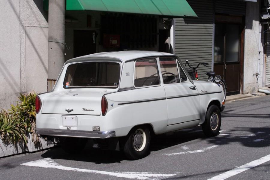 Mitsubishi Minica седан, 1964–1966, LA21 [рестайлинг] - отзывы, фото и характеристики на Car.ru