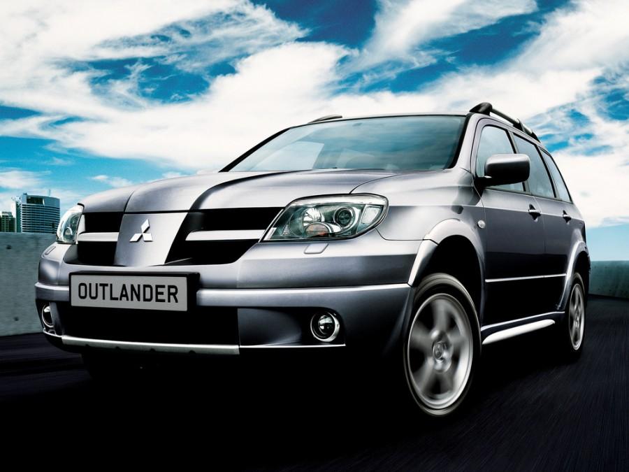 Mitsubishi Outlander кроссовер, 2003–2007, 1 поколение - отзывы, фото и характеристики на Car.ru